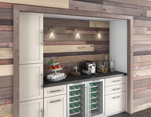 Modern and Rustic Kitchenette [BrewPub and Easy BarnWood Collections from Great American Spaces]