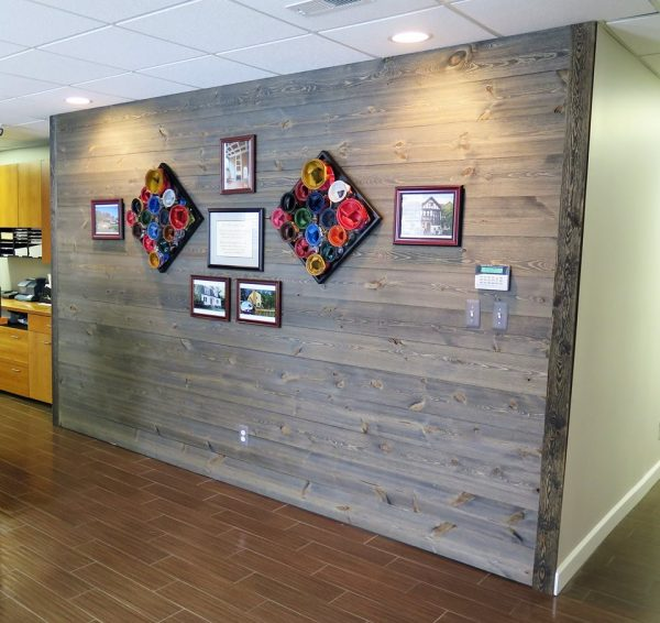 Tribble Painting Company Accent Wall Easy Barnwood Old Barn Gray